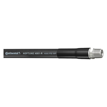 """Continental Pressure Washer Hose, 3/8"""" ID x 50 ft. 20119464"""