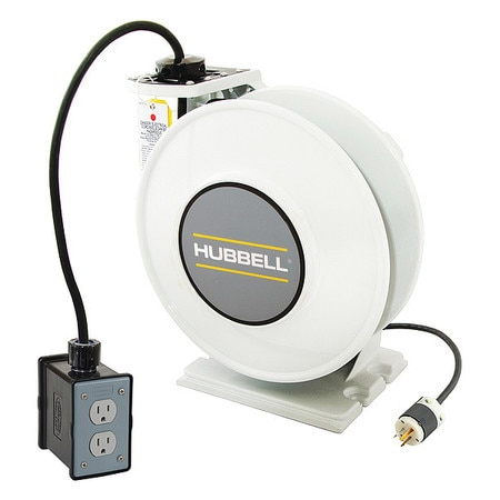 Hubbell Wiring Device-Kellems Cord Storage Reel, 45 ft. of 14/3 Cord HBLI45143R15M1
