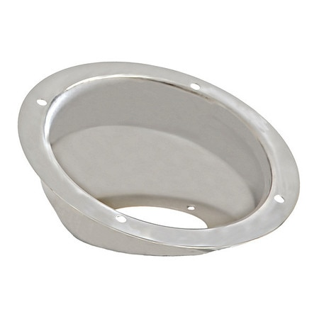 Buyers Products Fuel Fill Dish,  Stainless Steel,  21 deg. FFD626SS