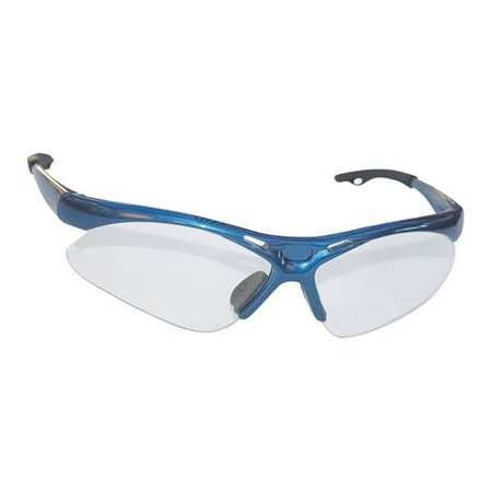 Sas Safety Safety Glasses,  Clear Polycarbonate Lens,  Anti-Fog,  Scratch-Resistant 540-0300