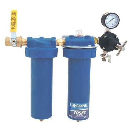 """Sharpe Manufacturing In-Line Filter and Coalescer, 1/2"""" 6910"""