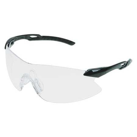 Erb Safety Safety Glasses,  Clear Polycarbonate Lens,  Anti-Static,  Scratch-Resistant 15426