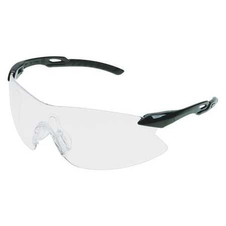 Erb Safety Safety Glasses,  Clear Polycarbonate Lens,  Scratch-Resistant 15420