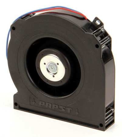 Ebm-Papst Compact Blower,  Round,  24V DC,  37.7 cfm cfm,  5 in W. RLF100-11/14