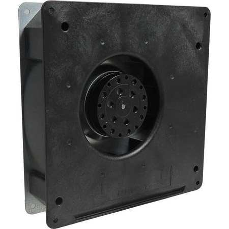 Ebm-Papst Compact Blower,  Square,  115V AC,  1 Phase,  55.3 cfm cfm,  7 in W. RG125-19/06