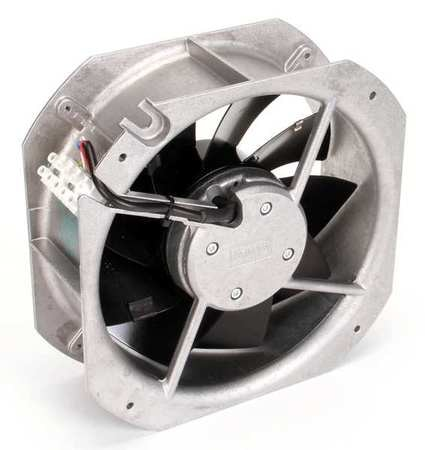 Ebm-Papst Axial Fan,  Square,  24V DC,  642 cfm,  8 7/8 in W. W1G200-HH77-52