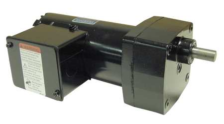 Leeson AC Gearmotor,  100.0 in-lb Max. Torque,  19 RPM Nameplate RPM,  208-230V AC Voltage,  3 Phase M1125282.00