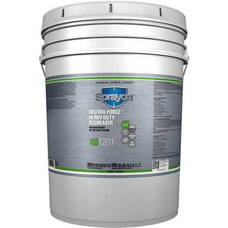 Sprayon Liquid 5 gal. Cleaner and Degreaser,  Pail S012010005