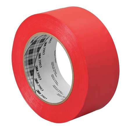 3M 4-50-3903-RED $28.19 Duct Tape, 4 In x 50 yd, 6.5 mil, Red, Vinyl | Zoro.com