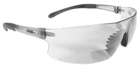 Radians Reading Glasses, +1.5, Clear, Polycarbonate RSB-115