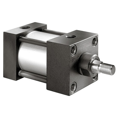 Speedaire Air Cylinder,  4 in Bore,  19 1/2 in Stroke,  NFPA Double Acting 5UZV0