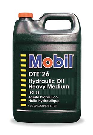 Mobil Mobil DTE 26, Hydraulic, ISO 68, SAE Grade 20, 1 gal