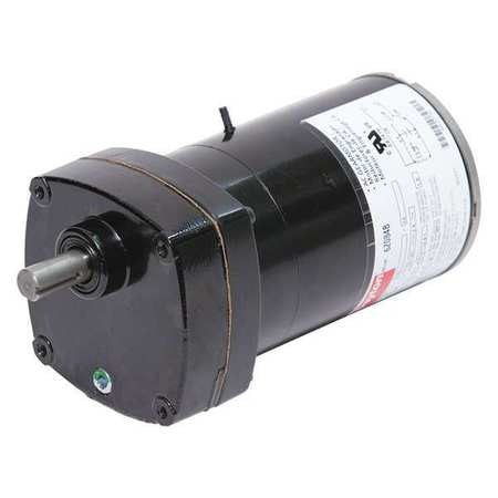 Dayton AC Gearmotor,  25.0 in-lb Max. Torque,  124 RPM Nameplate RPM,  115V AC Voltage,  1 Phase 6Z084