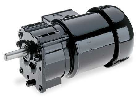Dayton AC Gearmotor,  320.0 in-lb Max. Torque,  7.8 RPM Nameplate RPM,  115/230V AC Voltage,  1 Phase 6Z816