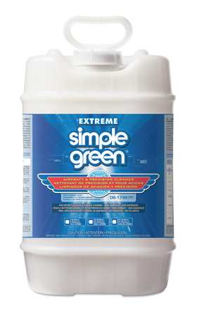 Simple Green Liquid 5 gal. Extreme Aircraft & Precision Cleaner Degreaser,  Pail 0100000113405
