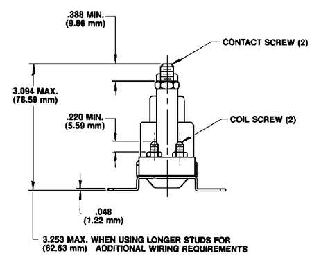White-Rodgers 120-105711 $17.29 DC Power Solenoid, 12V, Amps 100 | Zoro.com | White Rodgers Continuous Duty Solenoid Wiring Diagram |  | Zoro Tools
