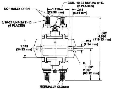 White-Rodgers 124-117111 $37.36 DC Power Solenoid, 36V, Amps 100 | Zoro.com | White Rodgers Continuous Duty Solenoid Wiring Diagram |  | Zoro Tools