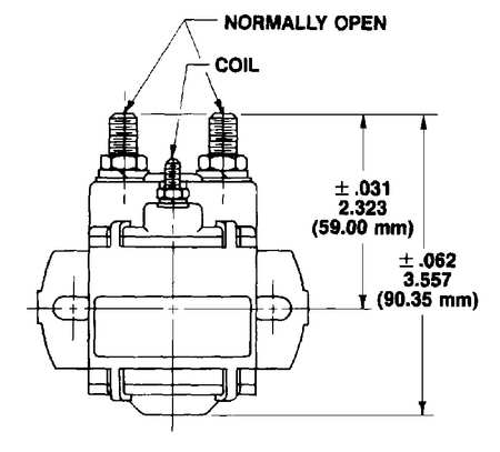 White-Rodgers 124-105111 $37.36 DC Power Solenoid, 12V, 100A | Zoro.com | White Rodgers Continuous Duty Solenoid Wiring Diagram |  | Zoro Tools