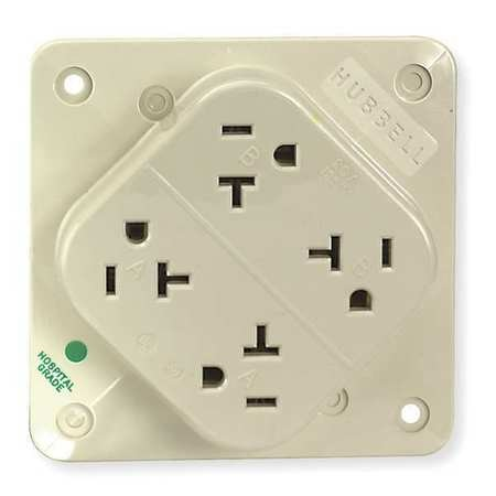 20A Quad Receptacle 125VAC 5-20R IV Wiring Quad Outlet on quad receptacle outlet, quad port outlet, quad wall outlet, quad power outlet,