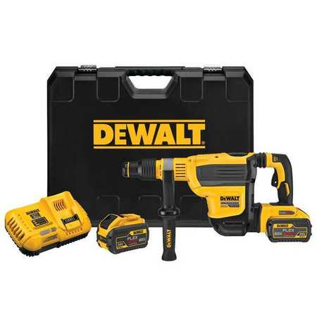 Dewalt 60V MAX* 1-3/4 in. Brushless Cordless SDS MAX Combination Rotary Hammer Kit DCH614X2