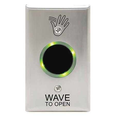 Camden Wave to Open Touchplate CM-331/41S-SGLR
