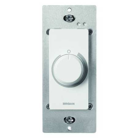 Broan Wall Control, Adjustable Speed Dial SC100W