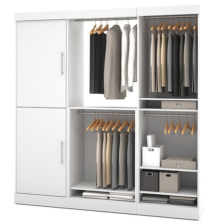 "Bestar Furniture Nebula 80"" Storage Kit"