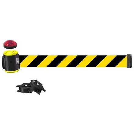 Banner Stakes Magnetic Wall Mount Barrier w/Light MH1507L