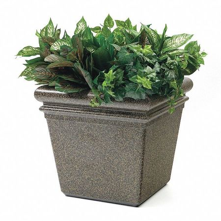 Commercial Zone Products StoneTec Small Planter, Aspen 724018