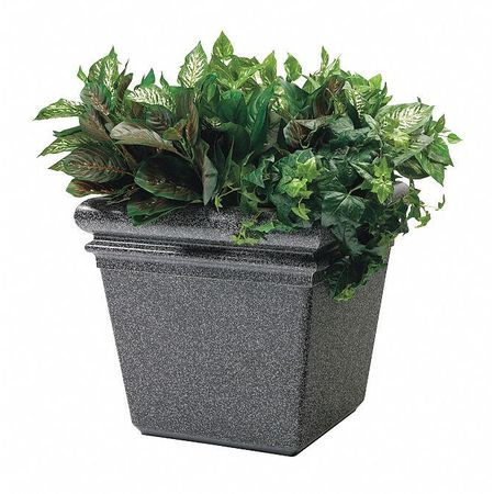 Commercial Zone Products StoneTec Sm Planter, Pepperstone 724019