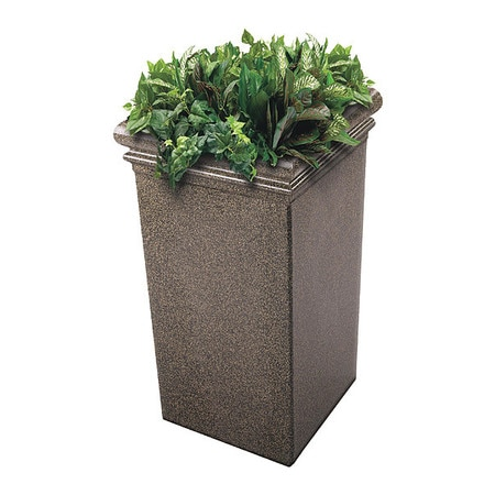 Commercial Zone Products StoneTec Tall Planter, Aspen 724118