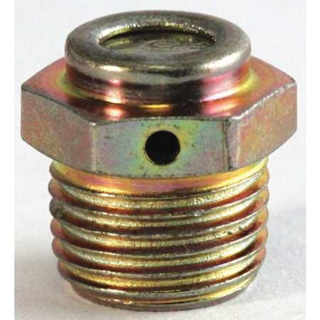 """Lincoln Grease Fttng Relief Side Vnt, 1-5psi, 1/8"""" L5677"""