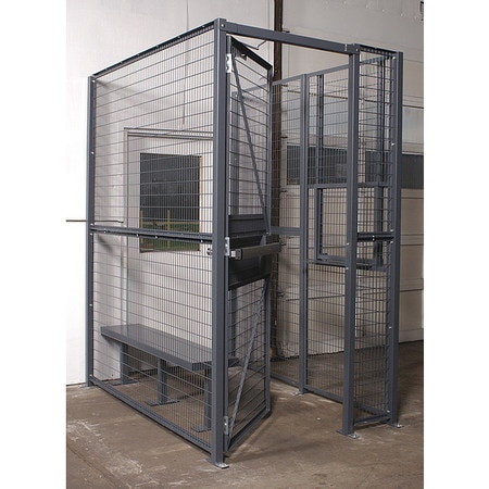 Wirecrafters Driver Cage, 3 Sided, 8 ft.x 10 ft.x 8 ft. MT3-810HD