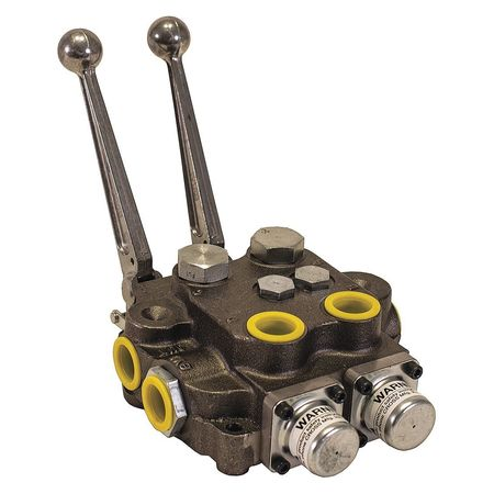 Buyers Products Directional Valve, Double 3 Way HV233AAG2ED0