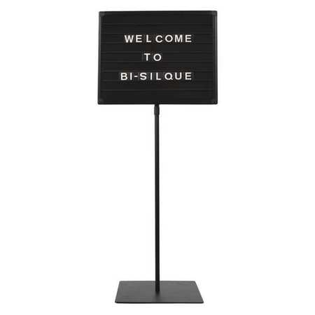 """Mastervision Magnetic Letter Board Stand 18x24"""",  Black SIG06040404"""