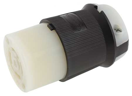 hubbell hbl2713 30A Locking Connector 3P 4W 125//250VAC