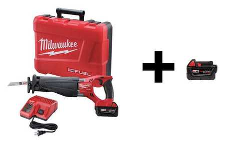 Milwaukee Recip Saw with Additional Battery, 18V 2720-21 / 48-11-1840
