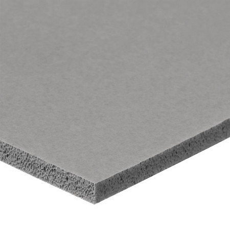 Usa Sealing Foam Strip,  Closed Cell,  1 in W,  6 ft L,  1/4 in Thick,  Gray ZUSASSR-FDA-20
