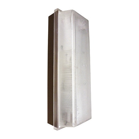 LED Wall Pack Outdoor Sconce with Prismatic Diffuser
