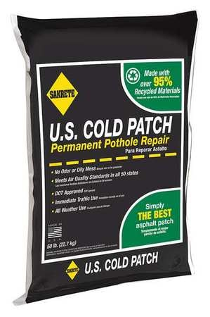 50 lb. Black Cold Patch