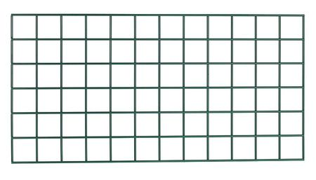 """Metro Antimicrobial Steel Wire Wall Grid,  24""""D x 36""""W x H,  Green WG2436K3"""