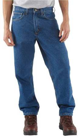 Relaxed Fit Jean Pants, Drkstn, Size32x32