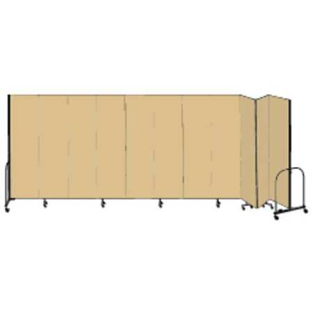 Partition, 20 Ft 5 In Wx7 Ft 4 In H, Beige