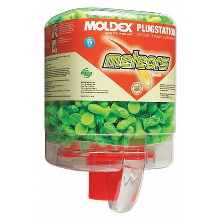 PK 250 MOLDEX 6634 Uncorded Ear Plugs Disposable Contoured Shape 28dB Rated