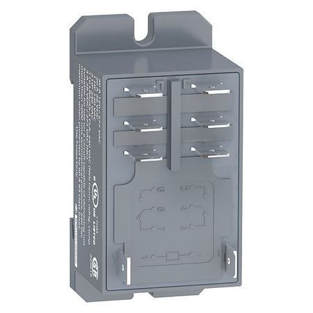 Schneider Electric Enclosed Power Relay, 8 Pin, 24VAC, DPDT RPF2BB7