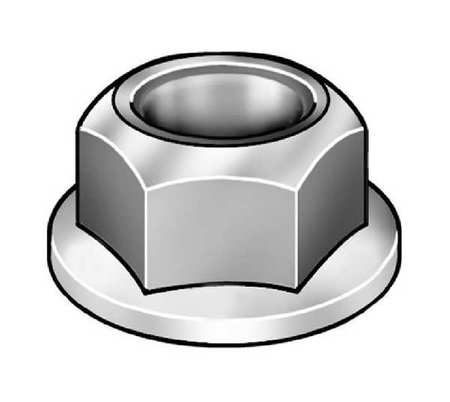 10//32 Zinc Plated Square Nuts Box of 100