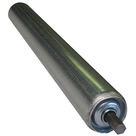 Ashland Conveyor Galv Replacement Roller,  1.9In Dia,  10BF,  Type: Light Duty KG10