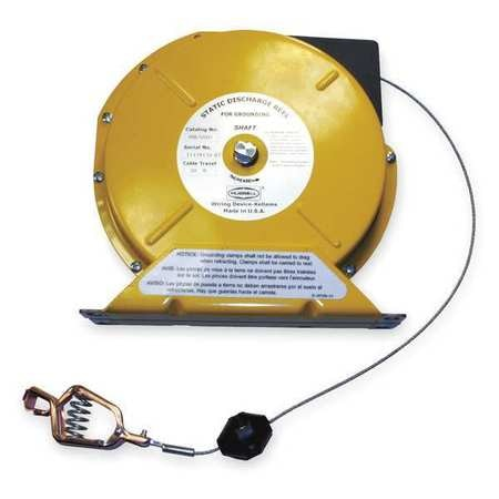 """Hubbell Wiring Device-Kellems Static Discharge Reel, 50 ft, 8-13/16"""" H HBL50SD"""