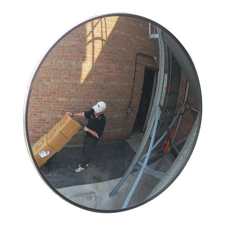 36 Dia Outdoor Convex Mirror Acrylic