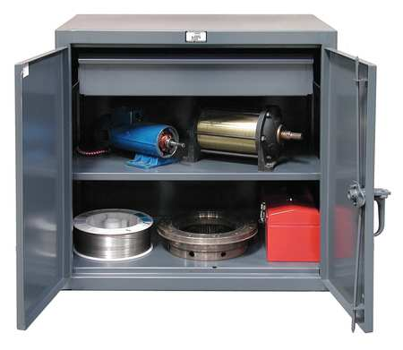 Strong Hold 12 ga. 12 ga. Steel Storage Cabinet,  Combination Drawer,  Stationary 33-201-1DB